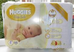 Huggies. 4-7 кг 66 шт