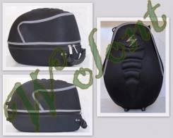 Чехол для кросс шлема черный