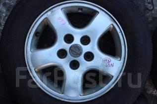 Nissan. 6.0x15, 5x114.30, ET45, ЦО 65,0мм.