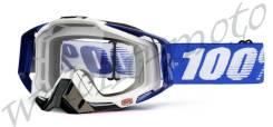 Очки 100% Прозрачная линза 100% Racecraft Cobalt Blue (50100-002-02)