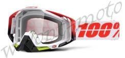 Очки 100% Прозрачная линза 100% Racecraft Flush (50100-109-02)