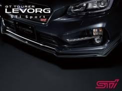 Накладка на бампер. Subaru Levorg, VMG, VM4. Под заказ