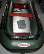 Suzumar. длина 3,20м., двигатель стационарный, 15,00л.с.