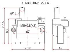 Катушка зажигания HONDA 96- на двигателя B,H,F,D
