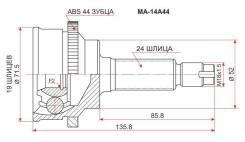 Шрус MAZDA Demio/Ford Festiva 96-02 ABS SAT MA-14A44