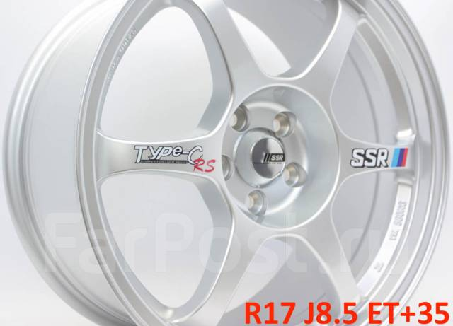 SSR. 8.5x17, 5x100.00, ET35, ЦО 73,1мм.