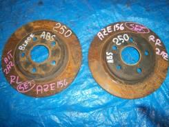 Диск тормозной. Toyota Blade, AZE154, AZE156, GRE156 Toyota Scion, AZE151 Двигатели: 2AZFE, 2GRFE