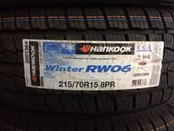 Hankook Winter RW06. Зимние, без шипов, 2016 год, без износа, 4 шт
