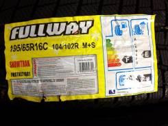 Fullway SnowTrak, 195/65 R16 C 104/102R. Зимние, без шипов, 2014 год, без износа, 4 шт