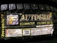 Autogrip Ecowinter. Зимние, шипованные, 2014 год, без износа, 4 шт