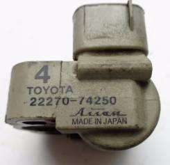 Клапан холостого хода. Toyota: Celica, Carina, Carina E, Curren, RAV4, Vista, Camry, Corona Exiv, Corona, Carina ED, Caldina Двигатель 3SFE