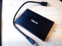 Внешние жесткие диски. 500 Гб