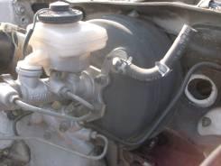 Главный тормозной цилиндр с вакуумным усилителем Тойота Краун GS131. Toyota Crown, GS131