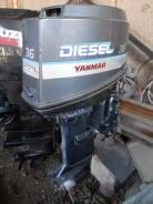 Yanmar. 36,00л.с., 4х тактный, дизель, нога L (508 мм), Год: 2000 год. Под заказ