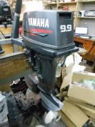 Yamaha. 10,00л.с., 2х тактный, бензин, нога S (381 мм), Год: 2000 год