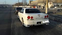 Бампер. Nissan Skyline, HR34, BNR34, ENR34