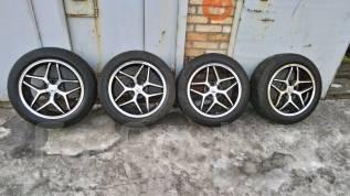 Продам летние шины Toyo A24 225/55R18 на литых дисках. x18 5x114.30 ET42