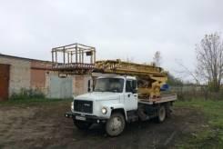 ГАЗ 3309. Продается автовышка, 3 000 куб. см., 18 м.