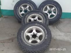 Продам комплект грязевой резины с дисками BFGudrihc 245/75/16. x16 6x139.70