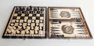 Нарды, шахматы 3 в 1