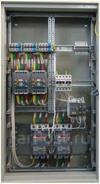 Cборка и ремонт электрических щитов, шкафов автоматики, АВР