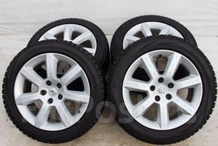 Колёса с шинами =Nissan Fairlady Z= R17! (№ 52957). 7.5/8.0x17 5x114.30 ET30/33