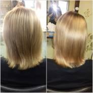 Окрашивание волос в салоне. Estel professional