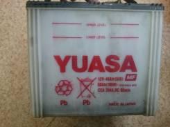 Yuasa. 60 А.ч., левое крепление, производство Япония
