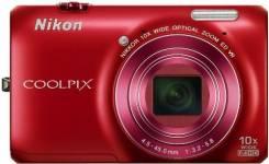 Nikon Coolpix S6300. 15 - 19.9 Мп, зум: 10х