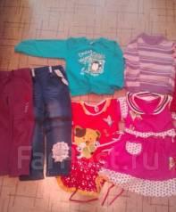 Пакет вещей на девочку. Рост: 98-104 см