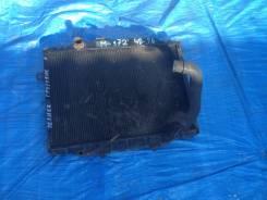 Радиатор охлаждения двигателя. Mitsubishi Delica Двигатель 4D56