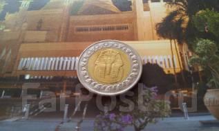 Египет. Биметалл. 1 фунт. Сфинкс.