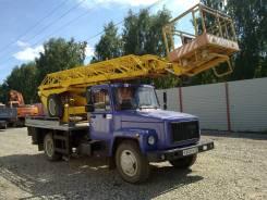 ГАЗ 3309. Автовышка АП 18-09, 4 750 куб. см., 18 м.