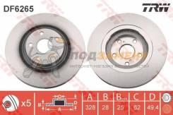Диск тормозной передний LEXUS RX (12/08- ), TOYOTA RAV4 IV (17) DF6265 TRW / DF6265