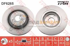 Диск тормозной передний LEXUS RX (12/08- ), TOYOTA RAV4 IV (17) DF6265 TRW / DF6265. Гарантия 6 мес