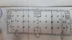 """Аренда торгового помещения на 1 этаже в ТЦ """"Зенит"""" в Хабаровске. 50 кв.м., улица Кубяка 9, р-н Индустриальный. План помещения"""