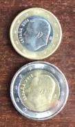 1 и 2 евро Испании 2016