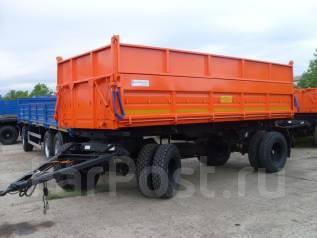 Сзап 8551. Прицеп самосвальный СЗАП 8551-02М, 12 000 кг.