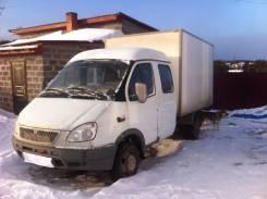 ГАЗ 330232. Продам двухрядный ГАЗ с термобудкой, 3 000 куб. см., 3 500 кг.