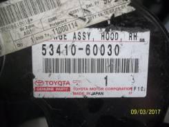 Крепление капота. Toyota Land Cruiser, FJ80, FZJ80, HZJ80, HZJ81, HDJ80, HDJ81 Двигатели: 1HZ, 1HDT, 3FE, 1FZFE, 1HDFT, 3F, 1FZF
