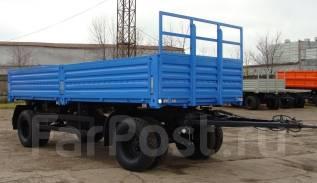 Нефаз 8332. Прицеп бортовой -0110100-01, 12 500 кг.