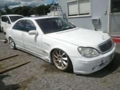 Обвес кузова аэродинамический. Mercedes-Benz S-Class, W220