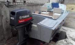 Yamaha. 40,00л.с., 2х тактный, бензин, нога L (508 мм), Год: 2012 год