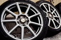 =Monza Japan= R17 5x114,3 *Gan Metal* + шины 215-45-17 [VSE-4] 2019. 7.0x17 5x114.30 ET50