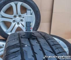 Bridgestone + TOYO, 215/55 R18. Летние, износ: 5%, 4 шт