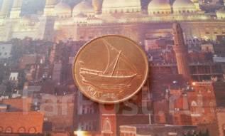 Флот! Арабские Эмираты! 10 филсов. Большая красивая монета!