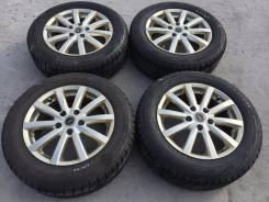 "205/60 R16 Bridgestone Blizzak Revo GZ литые диски 5х114,3 (К7-1607). 6.5x16"" 5x114.30 ET38"