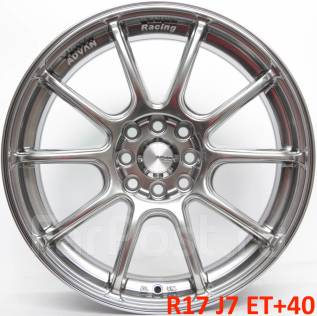 Advan Racing RSII. 7.0x17, 4x100.00, 4x114.30, ET40, ЦО 73,1мм.