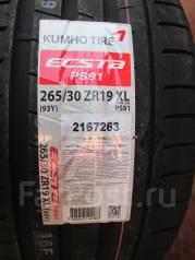 Kumho Ecsta PS91. Летние, 2017 год, без износа, 4 шт
