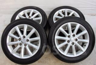 Колёса с шинами =Toyota= R17! 2014 год! 6-8 мм! (№ 53001). 7.0x17 5x114.30 ET45